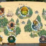 クロンダイクの冒険の地図
