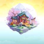 勇者クライシスの桜花神社