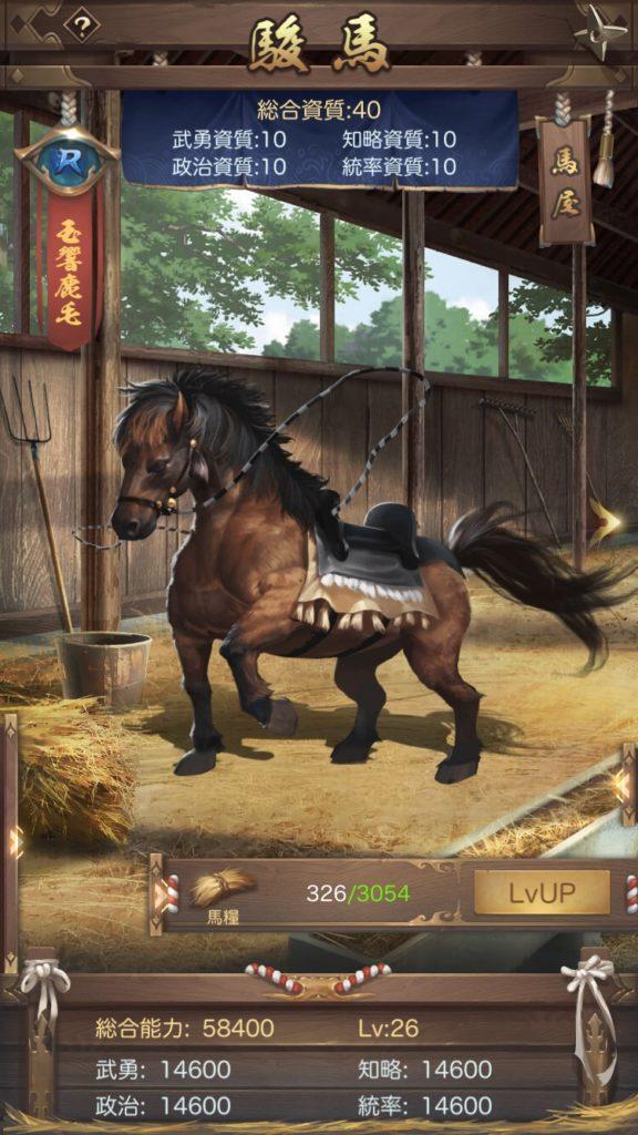 成り上がり 駿馬