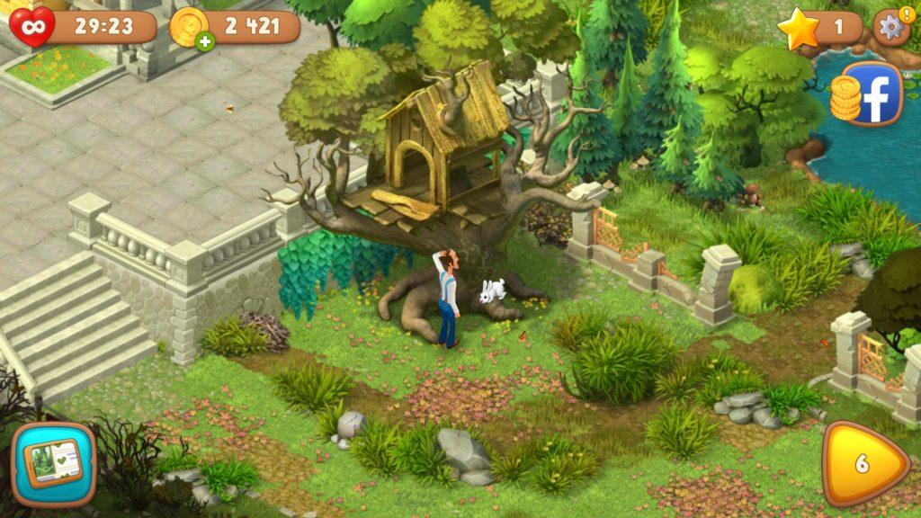 ガーデン スケイプ 広告 の よう な ゲーム