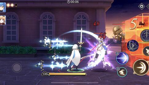 エデンの扉 戦闘画面