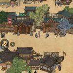 商人放浪記のゲーム画面